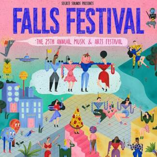 Falls Festival 2017/18 - Byron Bay - 3 Day Tickets x 2