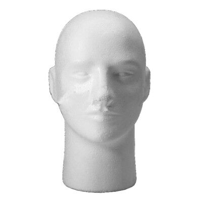Male Female Foam Styrofoam Mannequin Manikin Head Stand Wig Hat Display M9a3