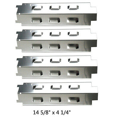 Kenmore Gas Grill Replacement Stainless Steel Heat Shield SPX531-4 pack