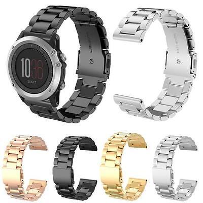 Fashion New Stailess Steel Bracelet Strap Watch Band For Garmin Fenix 3