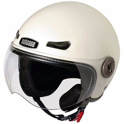 Nutcase Salt Moto Helmet Scooter Saftey Riding Head Protection XL