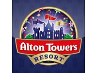 2 x Alton Tower tickets 7th July