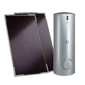 VIESSMANN Solarpaket Vitosol 200-F 5,02 m² m.Speicher 300 Liter 2 Kollektoren
