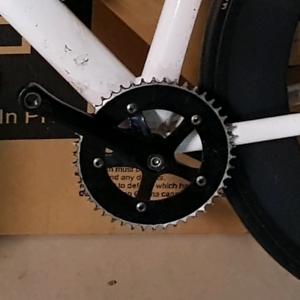 Sugino messenger RD2 track crank set