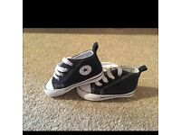 Baby boy converse trainers