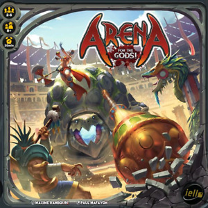 Arena for the gods board game (sleeved)