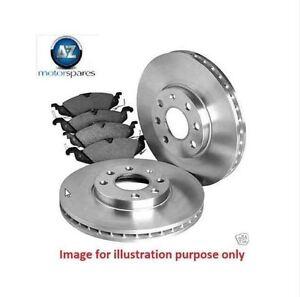 for toyota auris 1 4dt d4d 2006 new front brake discs set disc pads set ebay. Black Bedroom Furniture Sets. Home Design Ideas