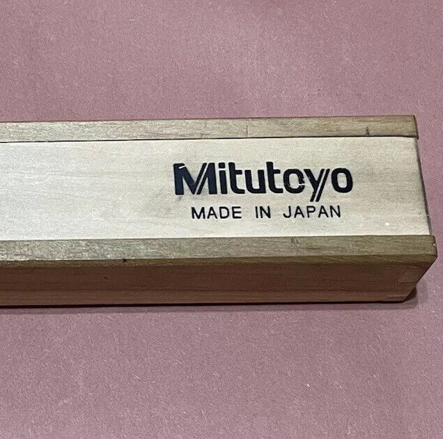 "Mitutoyo 146-132 0-1"" Spindle Type Groove"