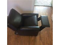 Small child's recliner