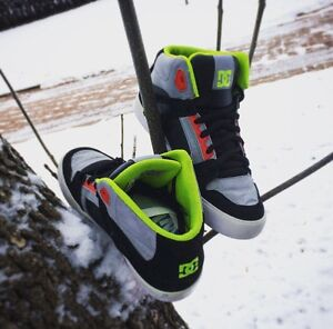 DC SPARTAN HIGHTOP SHOES!!!!!! Edmonton Edmonton Area image 2