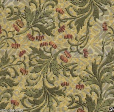 - Eclectic Garden Floral Print Quilt Fabric - 1 Yard