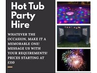HOT TUB PARTY HIRE!
