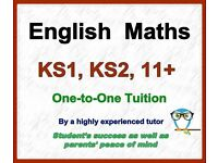 Highly Experienced Maths, English (KS1, KS2), 11+ & 13+ Tutor (CEM- Verbal and Non-V. Reasoning)