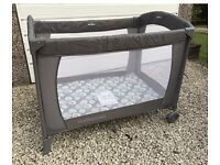 Travel cot / play pen. Mothercare, serenity. Immaculate!!