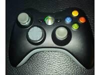 Black Xbox wireless controller