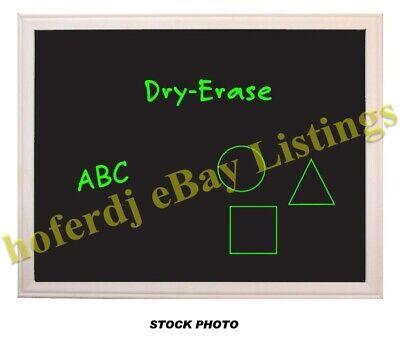 24 X 36 2 X 3 Wood Framed Black Dry Erase Board