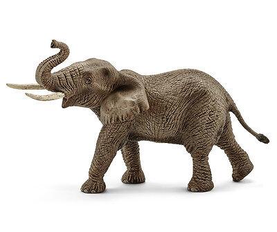 Schleich 14762 African Elephant Male Animal Model Toy Figurine - NIP (Schleich African Elephant)