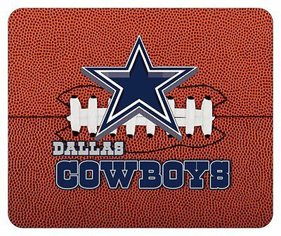 DALLAS COWBOYS MOUSE PAD. FOOTBALL LOGO. NFL.....FREE SHIPPING - Dallas Cowboys Office Supplies