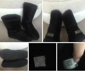 UGG Boots, Black, size 7.5