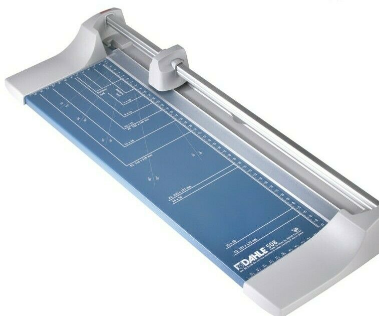 "DAHLE 508 Trimmer,18"",Rolling,Be"