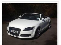 Audi TT 1.8 ROADSTER Cabriolet White £10999 o.n.o.