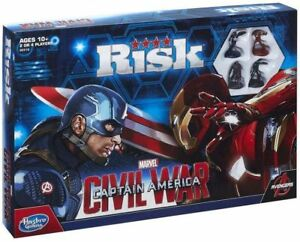 Hasbro RISK board game Captain America Civil War BRAND NEW