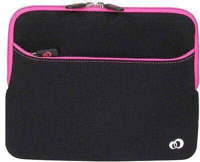 Pink Travel Case Carry Bag Apple iPad2 ipad laptop Soft Form Sleave -