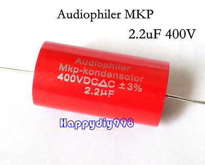 2pc 5pc10pc20pc Audiophiler Mkp Audio Capacitor 400v 2.2uf