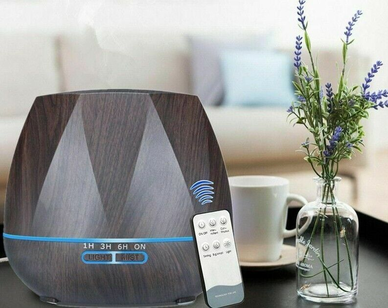 remote control air humidifier essential aroma oil