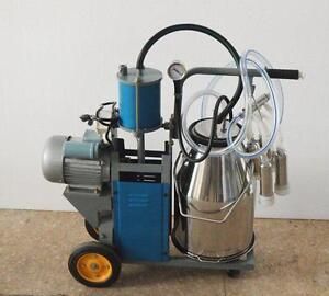 Cow Milker Electric Piston Milking Machine For Cows Bucket 170676