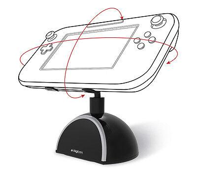 Wii U Rotating Stand WiiU Drehbarer Standfuß für GamePad Halterung NEU Bigben