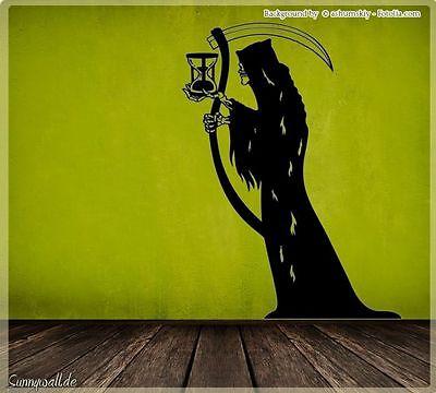 Wandtattoo Halloween Der Tod Deathman Sensenmann - Halloween Wandtattoos
