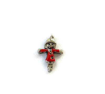 FALL HALLOWEEN SCARECROW Floating Charm Living Memory Locket BUY 5 GET 2 FREE