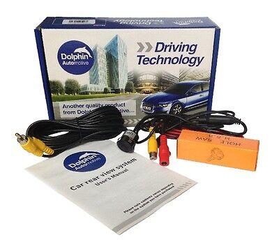 Car and Van Mini Micro Reversing Reverse Rear View Bumper Parking Camera