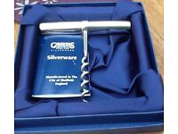 Carrs Silver Wine opener