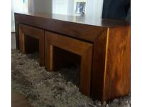 Large Coffee table (with 2 nested tables)