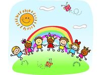 Registered and insured childminder available
