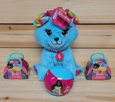 Barbie Series 7 Pets Lot~2 Pets In Each W/Bonus Barbie Pet Dog Plush~New Sealed~