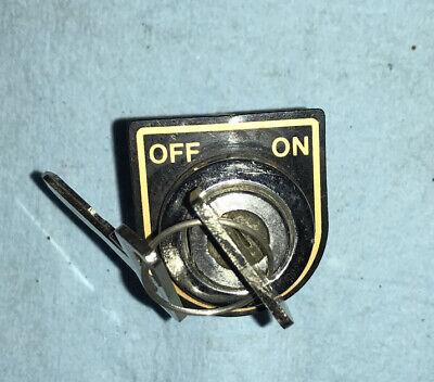 Genuine NOS Club Car DS Gas Golf Cart 1983.5-1995 Ignition Key Switch  2 Keys -