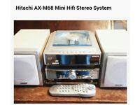 Hitachi mini Hifi stereo system