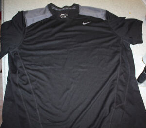 Nike Mens Dri Fit work out shirts short sleeves