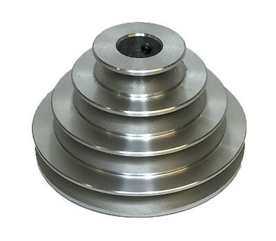Rdgtools 4 Step Vee Pulley 34 Bore 2 3 4 5 Diameter A Section Pulley