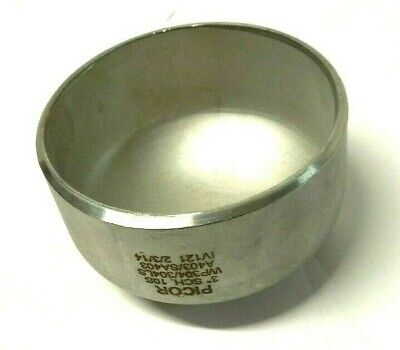 3 Schedule 10 Butt-weld Pipe Cap 304ls Stainless Steel Weld Fitting Sb06110830