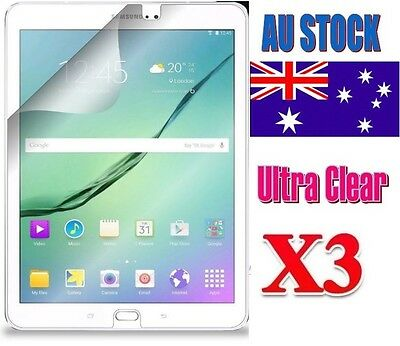 3X Ultra Clear Screen Protector For Samsung Galaxy Tab S2 S3 8.0