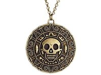 Brand New Pirates of the Caribbean Coin Necklace