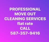 FLAT RATE HOME CLEANING (Call now for a quote)