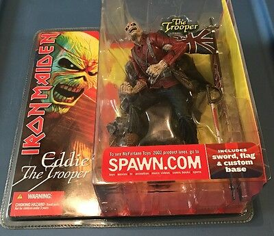 McFarlane Toys Iron Maiden Figure Eddie the Trooper New in Box