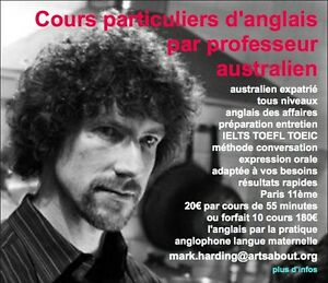 Traduction, relecture et correction en anglais par australien