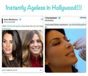 Instantly ageless: wrinkles away in 2 minutes