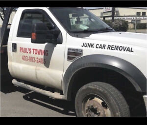 Paul's Towing: Cheap $99 FlatRate Towing! No KM Charge!